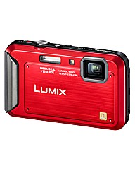 Panasonic 16MP Waterproof Camera Red