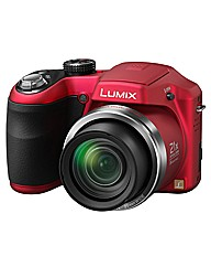 Panasonic 16MP 21x Zoom Camera - Red