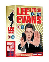 Lee Evans Complete Live Collection DVD