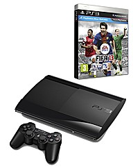 PS3 500GB Super Slim Console + FIFA 13