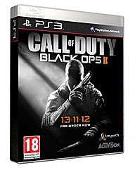 Call Of Duty Black Ops 2 PS3 Game