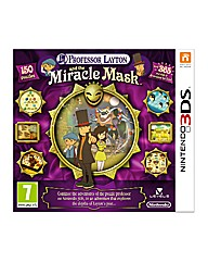 Professor Layton 3DS Game