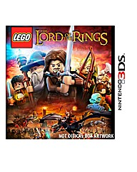 Lego Lord Of The Rings 3DS Game