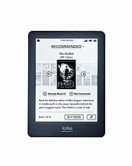 Kobo Glo 6in eReader - Black