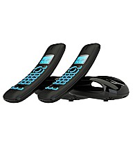 Twin Cordless Phone with Answer Machine