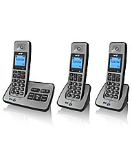 BT Triple Phone With Answering Machine