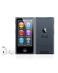 Apple iPod Nano 16GB - 7th Gen - Slate