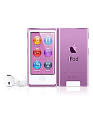 Apple iPod Nano 16GB - 7th Gen - Purple