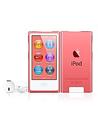 Apple iPod Nano 16GB - 7th Gen - Pink