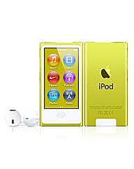 Apple iPod Nano 16GB - 7th Gen - Yellow