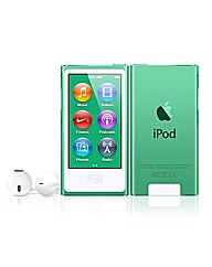 Apple iPod Nano 16GB - 7th Gen - Green