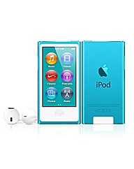 Apple iPod Nano 16GB - 7th Gen - Blue