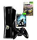 XBox 360 250GB Console with 2 Games
