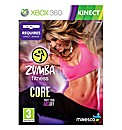 Zumba Core XBox 360 Kinect Game