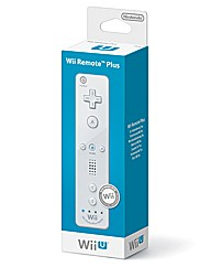 Wii-U Remote Plus - White