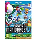 Super Mario Brothers U Wii-U Game