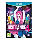 Just Dance 4 Wii-U Game