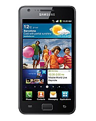 Samsung Galaxy S 2 Mobile Phone - Black