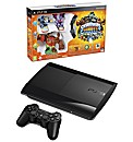 PS3 500GB Super Slim Console + Skylander