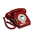 Retro Phone - Red