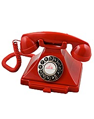 Carrington Retro Phone - Red