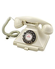 Carrington Retro Phone - Ivory
