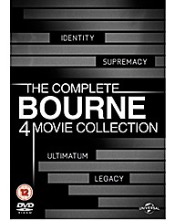Bourne Quadrilogy DVD