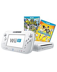White WiiU Basic Pack+Your Shape Fitness