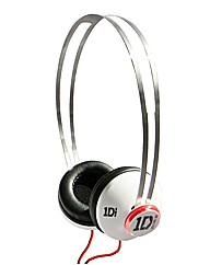 One Direction SnapCaps Headphones White