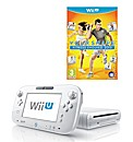 White Wii-U Basic Pack + Fitness Evolved