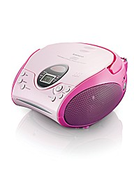 Lenco Portable CD Player - Pink