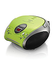 Lenco Portable CD Player - Green