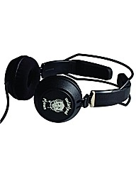 MotorHead Bomber Black Headphones