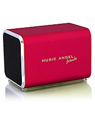 Music Angel Friendz Speaker Red