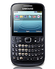 Orange Samsung Chat 357 Mobile Phone