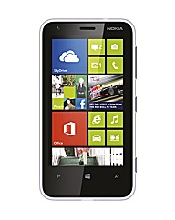 Vodafone Nokia Lumia 620 White Mobile
