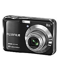 Fuji FinePix 16MP Camera - Black