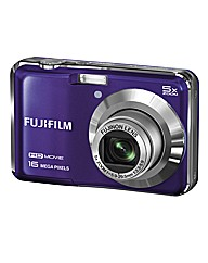 Fuji FinePix 16MP Camera - Purple