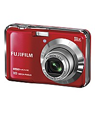 Fuji FinePix 16MP Camera Red