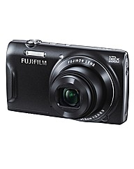 Fuji FinePix 16MP 12x Zoom Camera -Black