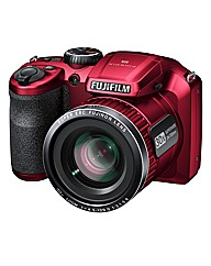 Fuji FinePix 16MP 30x Zoom Camera - Red