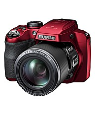 Fuji FinePix 16MP 40x Zoom Camera - Red