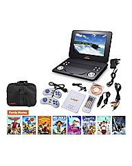 Lava 9in DVD Player Bundle