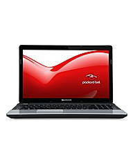 Packard Bell 15.6in Pentium Laptop Black