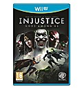 Injustice Wii U Game