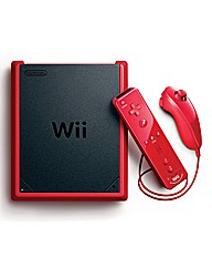 Nintendo Wii Mini Red