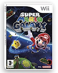 Super Mario Galaxy Wii Game