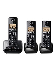 Triple Cordless Phone & Answer Machine