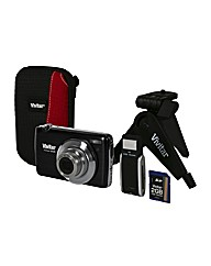 16MP Digital Camera + Kit - Black