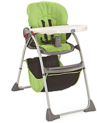 Chicco Happy Snack Highchair Green